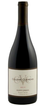 2015 Dopp Creek Pinot noir